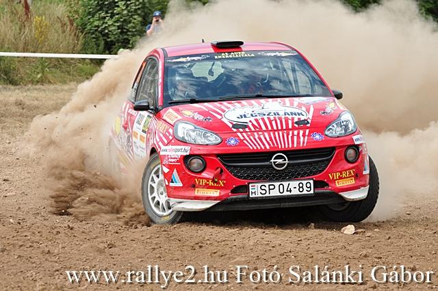 Veszprém Rallye 2017 Rallye2 Salánki Gábor 640 0045